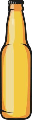 amstein beer vecto jaune