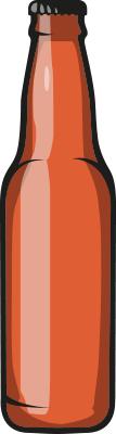 amstein beer vecto orange