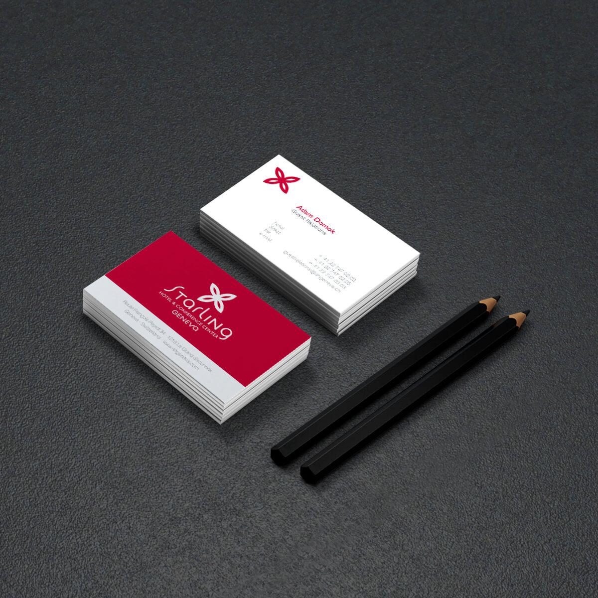 Starling Hôtel Genève – Carte de visite