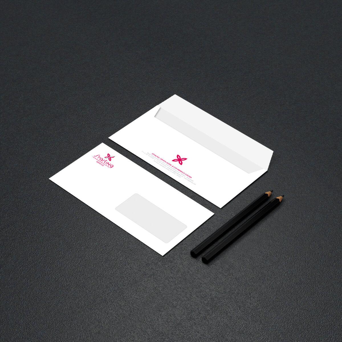 Starling Hôtel Genève – Enveloppe