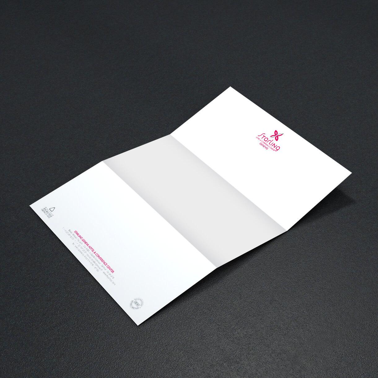 Starling Hôtel Genève – Papier à lettre