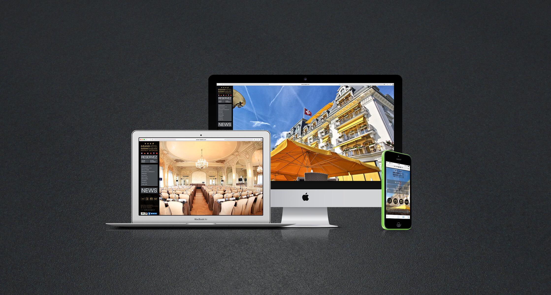 Suisse Majestic – site web