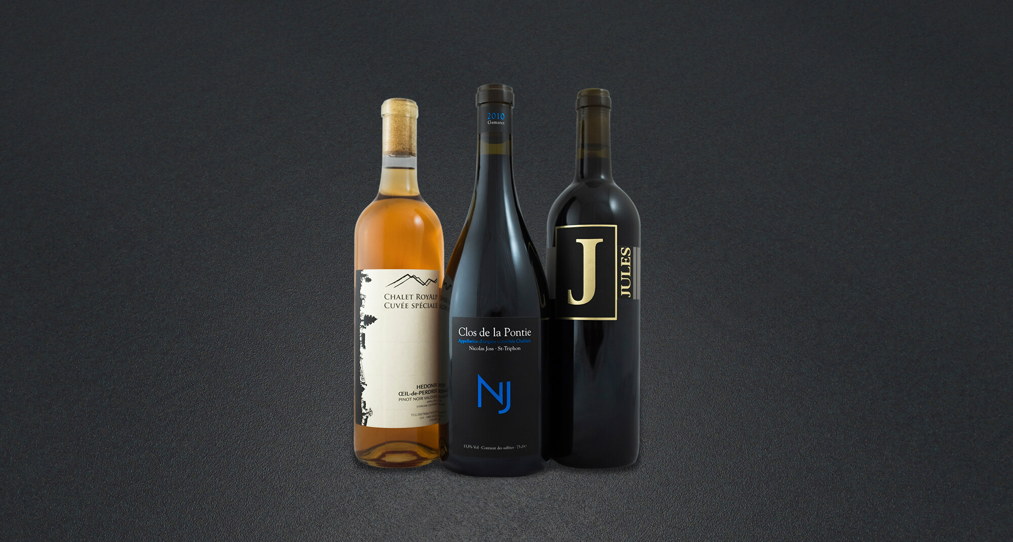 Bouteille de vins