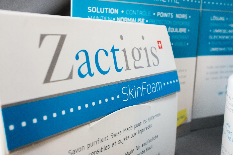 Zactigis SkinFoam – Packshot