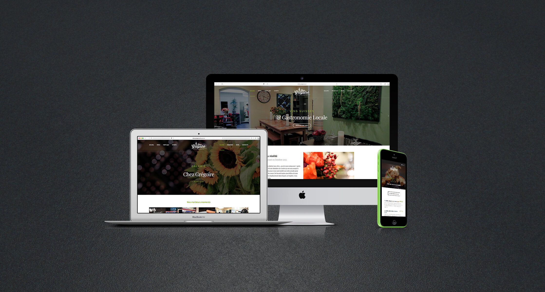 Chez Gregoire – site web